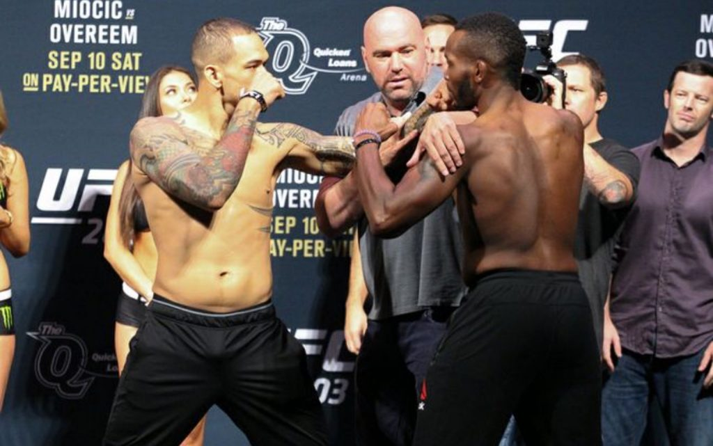 UFC 203: Spencer vs. Medeiros