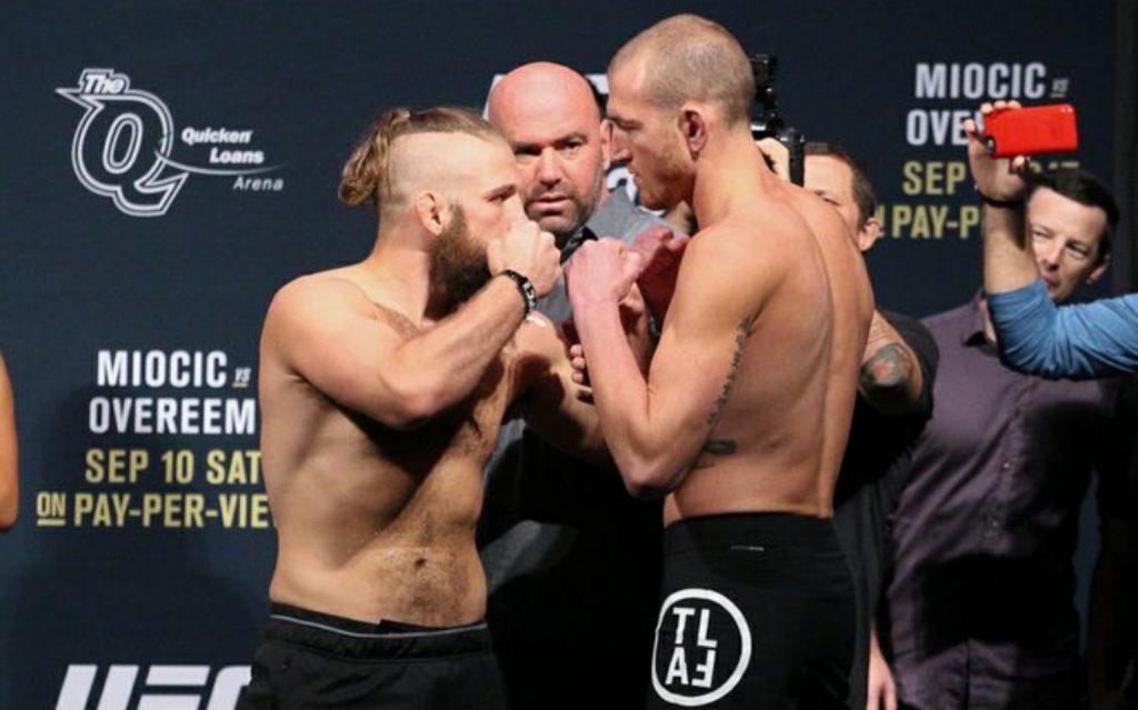 UFC 203: McBride vs. Lentz