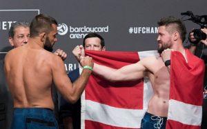 UFC Fight Night 93 | Nicolas Dalby vs. Peter Sobotta