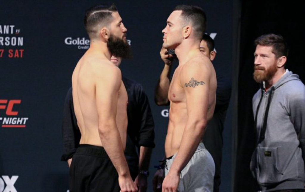 Bryan Barberena vs. Colby Covington