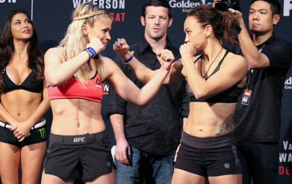 Paige VanZant vs. Michelle Waterson